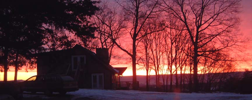 A spectacular sunrise - another beautiful